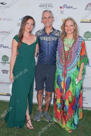 Stock Photo of Rebecca Harrell Tickell, Mark Sims and Simone Schultz