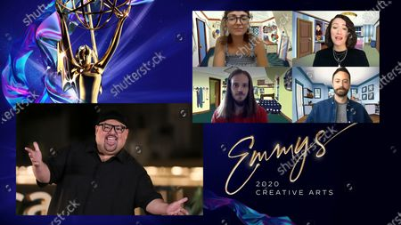 Editorial image of 2020 Creative Arts Emmys Scripted Night Two, Los Angeles, United States - 17 Sep 2020