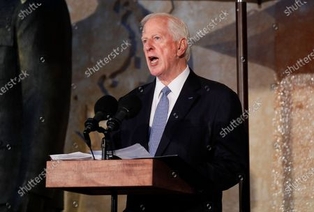 Rep. Mike Thompson (D-CA) speaks at the opening of the Dwight D Eisenhower Memorial, honoring the legacy of the World War II Supreme Allied Commander and nation's 34th President