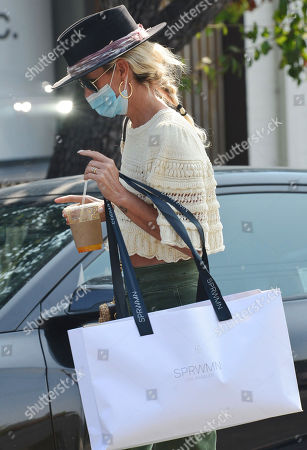 Editorial image of Laeticia Hallyday out and about, West Hollywood, Los Angeles, USA - 17 Sep 2020