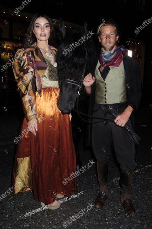 Victoria Briele Olona and Jeff Garner