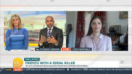Editorial picture of 'Good Morning Britain' TV Show, London, UK - 18 Sep 2020