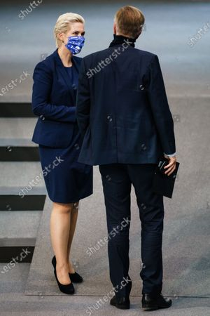 Editorial photo of German Bundestag session, Berlin, Germany - 18 Sep 2020