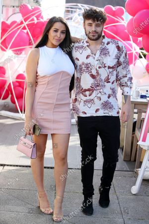 Editorial photo of Exclusive - Marnie Simpson Bye Bye Gluten product launch, St Villa Restaurant, St Albans, Hertfordshire, UK - 17 Sep 2020