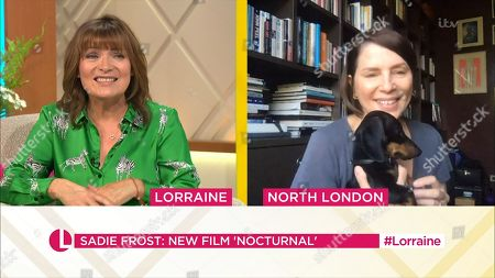 Stock Photo of Lorraine Kelly and Sadie Frost