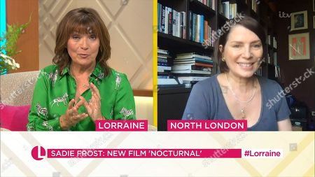 Lorraine Kelly and Sadie Frost