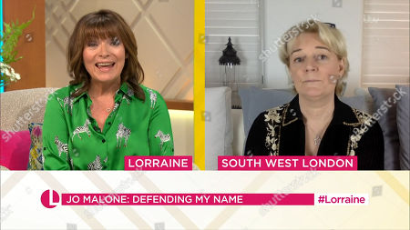 Lorraine Kelly and Jo Malone