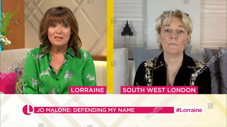 Stock Image of Lorraine Kelly and Jo Malone