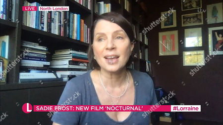 Editorial photo of 'Lorraine' TV Show, London, UK - 18 Sep 2020
