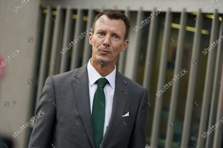 Prince Joachim of Denmark starts a new job as defense attaché at the Danish Embassy in Paris, France, 18 September 2020.