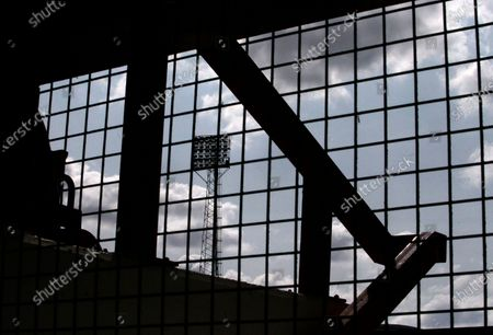 Stock Image of A view from inside the Brian Clough stand