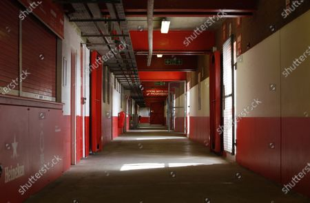 Stock Photo of A view from inside the Brian Clough stand