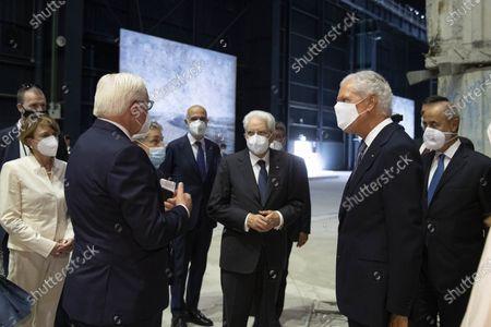 Editorial photo of Italian Republic President Sergio Mattarella meets German President Frank-Walter Steinmeier in Milan, Italy - 17 Sep 2020