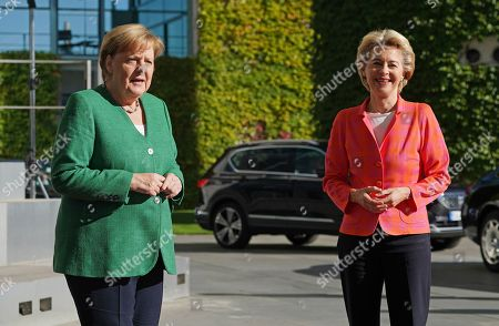 European Commission President Ursula von der Leyen visit to Berlin