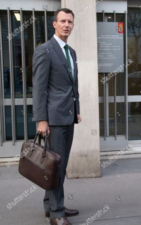 Prince Joachim arrives at the Danish Embassy. He becomes the new Defence Counsellor at the Danish Embassy in France.