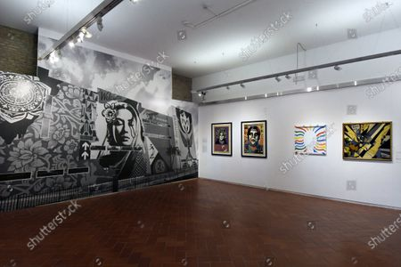 An exhibition project in which thirty unpublished works by the famous urban artist interact with works by other contemporary artists from the National Gallery of Modern Art collection, which he himself selected