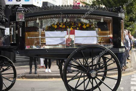 Funeral of Soldier Dean Corbett, Manchester