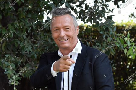 Stock Image of Tv host Paolo Belli