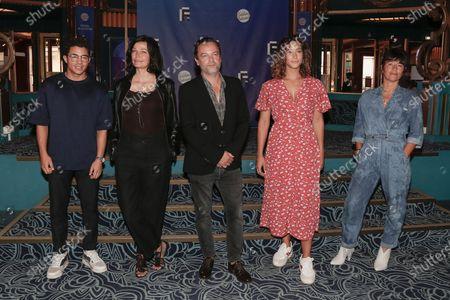 Editorial photo of 'Ils Etaient Dix' TV show photocall, Festival de la Fiction TV, Folies Bergere, Paris, France - 17 Sep 2020