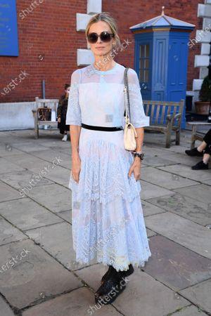 Editorial picture of Bora Aksu show, Arrivals, Spring Summer 2021, London Fashion Week, UK - 18 Sep 2020