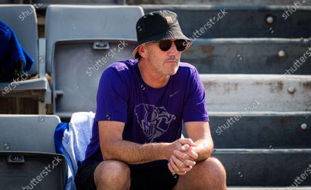 Darren Cahill at the 2020 Internazionali BNL d'Italia WTA Premier 5 tennis tournament