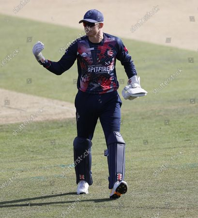 Stock Picture of Sam Billings of Kent during Kent Spitfires vs Essex Eagles, Vitality Blast T20 Cricket at The Spitfire Ground on 18th September 2020