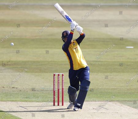 Tom Westley hits out for Essex during Kent Spitfires vs Essex Eagles, Vitality Blast T20 Cricket at The Spitfire Ground on 18th September 2020