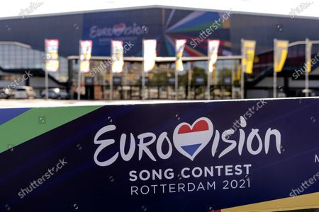 Stock Picture of An exterior view of the Ahoy Arena where the Eurovision Song Contest 2021 is planned to take place in Rotterdam, Netherlands, 18 September 2020. The organizers announced that it would develop four scenarios so that the festival can continue. The ESC was moved to next year due to the coronavirus pandemic.
