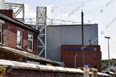 A general view of The Jack Walker Stand as seen from the local community