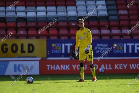 Ben Amos (13) of Charlton FC Charlton goal keeper