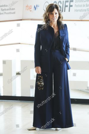 Gina Gershon attended 'Rifkin's Festival' Photocall during 68th San Sebastian International Film Festival at Kursaal Palace on September 18, 2020 in Donostia / San Sebastian, Spain