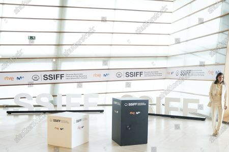 Elena Anaya attended 'Rifkin's Festival' Photocall during 68th San Sebastian International Film Festival at Kursaal Palace on September 18, 2020 in Donostia / San Sebastian, Spain