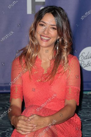 Vanessa Guide - '3615 Monique' Photocall at the 'Festival de la Fiction TV 2020' held at the 'Folies Bergere' in Paris, France