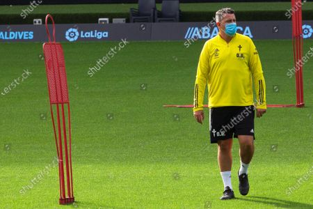 Stock Picture of Celta Vigo's head coach Oscar Garcia leads his team's training session in Vigo, northwestern Spain, 18 September 2020. Celta Vigo will face Valencia CF in their Spanish La Liga soccer match on 19 September 2020.