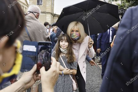 Wife Of Emmanuel Macron Stock Pictures Editorial Images And Stock Photos Shutterstock