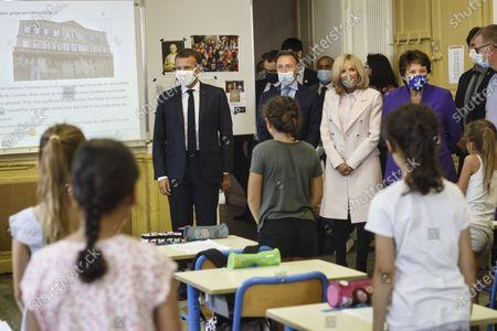 French President Emmanuel Macron Visit Condom Stock Photos Exclusive Shutterstock