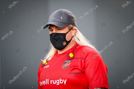 Editorial picture of European Rugby Challenge Cup Quarter-Final, Ashton Gate Stadium, Bristol, England - 18 Sep 2020