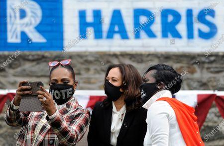 Editorial photo of Election 2020 Harris, Philadelphia, United States - 17 Sep 2020