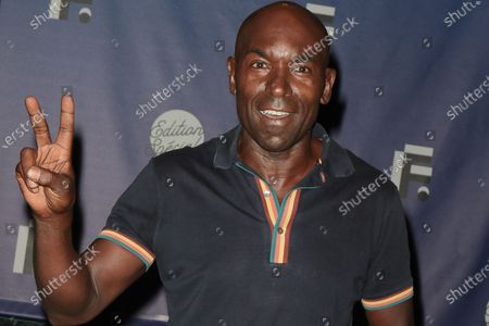 Stock Image of Lucien Jean-Baptiste - 'Women in medias' Photocall at the 'Festival de la Fiction TV 2020' held at the 'Folies Bergere' in Paris