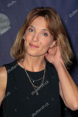 Stock Picture of Alix Poisson - 'Women in medias' Photocall at the 'Festival de la Fiction TV 2020' held at the 'Folies Bergere' in Paris