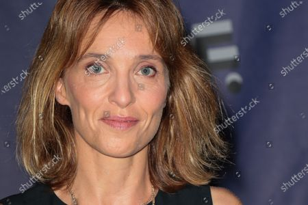 Stock Photo of Alix Poisson - 'Women in medias' Photocall at the 'Festival de la Fiction TV 2020' held at the 'Folies Bergere' in Paris