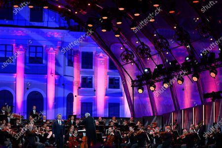 Editorial picture of Vienna Philharmonic Summer Night Concert, Austria - 18 Sep 2020