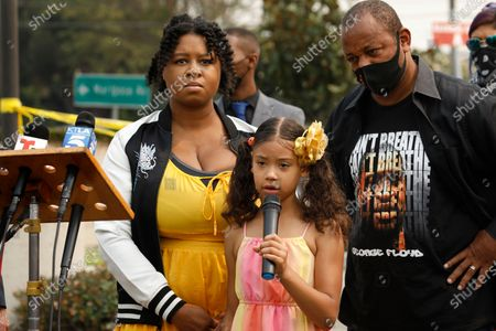 Editorial photo of Excessive force news conference, Los Angeles, USA - 10 Sep 2020