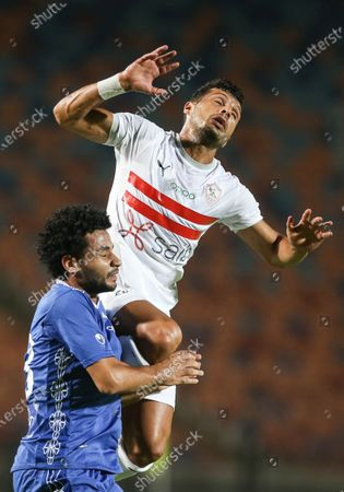 Editorial photo of Zamalek SC vs Aswan SC, Cairo, Egypt - 18 Sep 2020