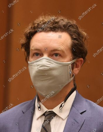 "Actor Danny Masterson appears at his arraignment in Los Angeles Superior Court in Los Angeles, Calif. on . ""That '70s Show"" actor Masterson was arraigned on three rape charges"