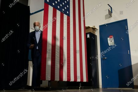 Editorial picture of Election 2020 Biden, Hermantown, United States - 18 Sep 2020