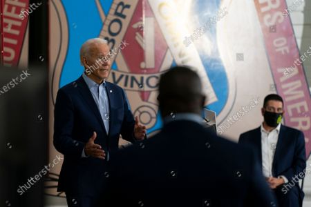 Editorial image of Election 2020 Biden, Hermantown, United States - 18 Sep 2020