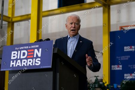 Editorial photo of Election 2020 Biden, Hermantown, United States - 18 Sep 2020