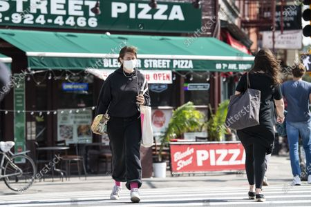 Editorial photo of NEWS Covid-19, Manhattan, USA - 18 Sep 2020
