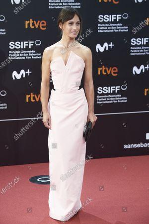 Editorial picture of San Sebastian International Film Festival, Opening Red Carpet, Spain - 18 Sep 2020